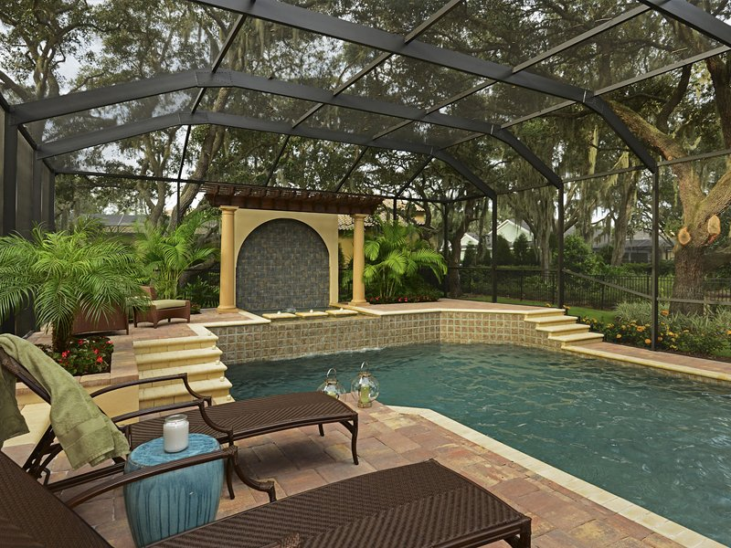 Sabal Homes Tampa Custom Luxury Home Builder Outdoor Living