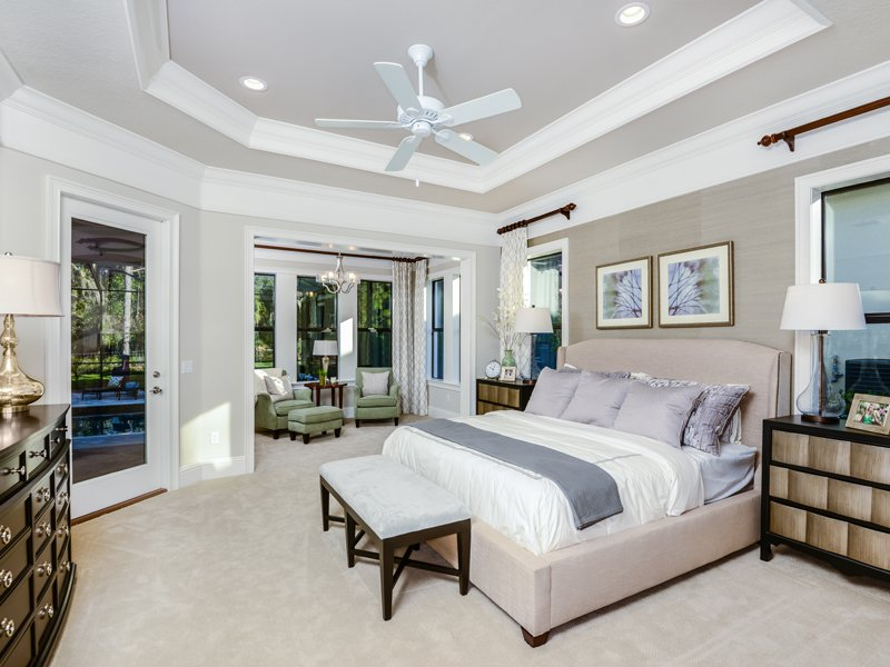 Sabal Homes Tampa Custom Luxury Home Builder Master Bedroom