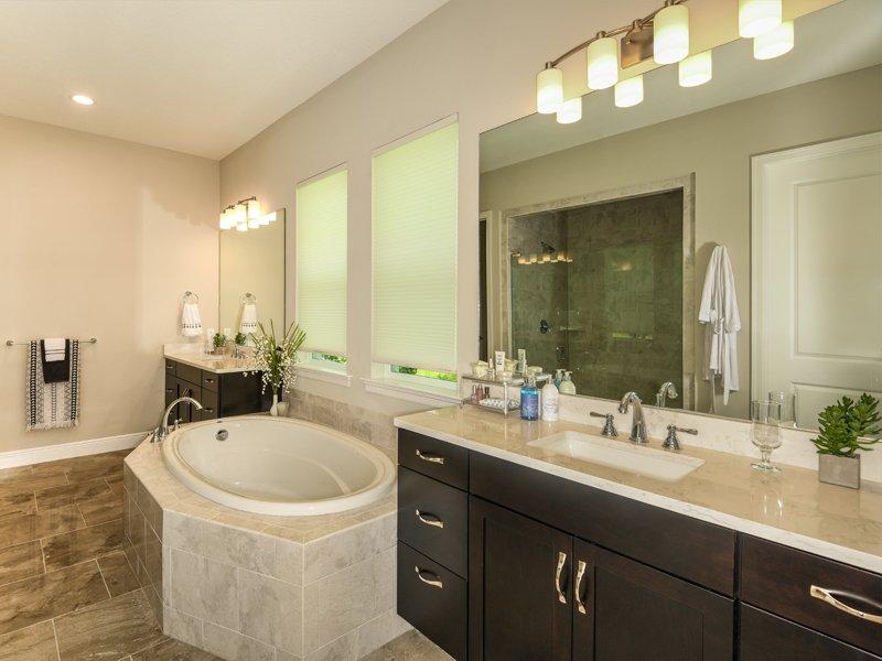 Sabal Homes Tampa Custom Luxury Home Builder Master Bathroom