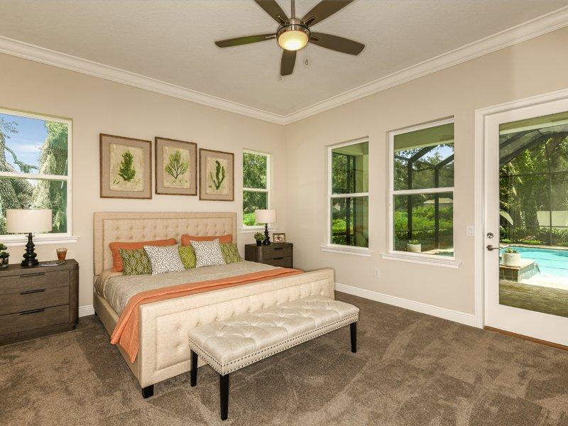Sabal Homes Tampa Custom Luxury Home Builder Master Bedroom