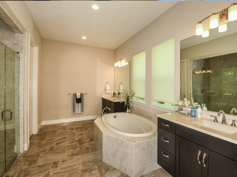 Sabal Homes Tampa Custom Luxury Home Builder Master Bathrooms